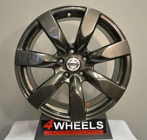18 inch gt r style rims wheels fits nissan infiniti g35 g37 350z for sale in philadelphia. Black Bedroom Furniture Sets. Home Design Ideas
