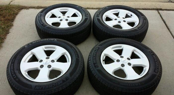 """18"""" JEEP GRAND CHEROKEE USED WHEELS RIMS TIRES FACTORY"""
