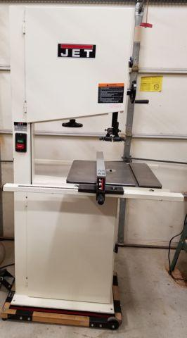18 Jet Band Saw For Sale In Stewartsville New Jersey Classified