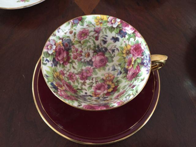 18 Vintage Bone China Teacups