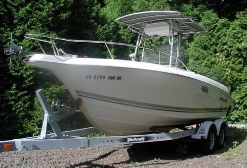 18 39 wellcraft center console 1990 for sale in branford for Metal craft trailers parts