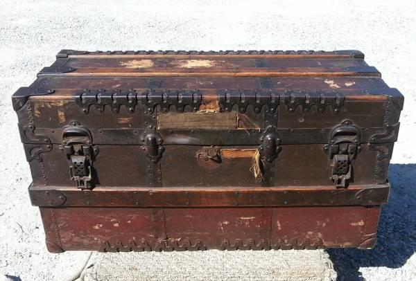 ... Tool+Chest 1800's Antique Carpenters Tool Chest/ Hope Chest for sale