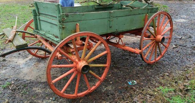 1800s Single Horse Florence Wagon Restored