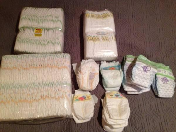 188 Diapers Sizes Newborn 1 Amp 2 Pampers Huggies Luvs
