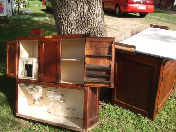 1890's Hoosier Kitchen Cabinet - for Sale in Madison ...