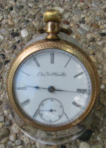 1897 ELGIN NATNL WATCH CO. RAILROAD POCKET WATCH