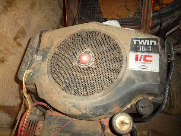 team Microsoft 18 hp briggs and stratton opposed twin checked local