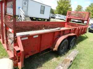 18ft Gooseneck utility trailer - $1800 (New Iberia)