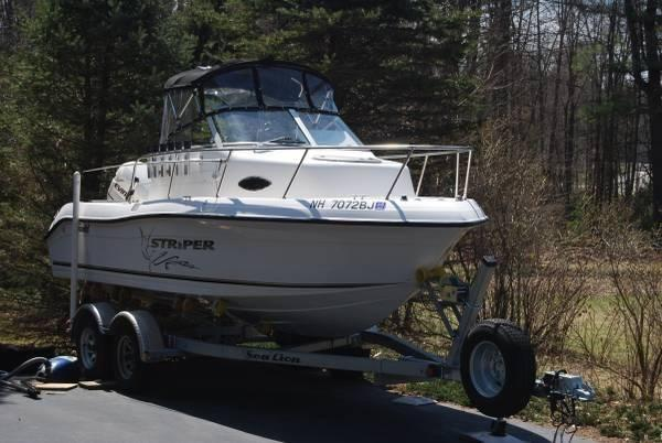 19' 2003 Seaswirl Striper 1850 WA for Sale in Allenstown ...