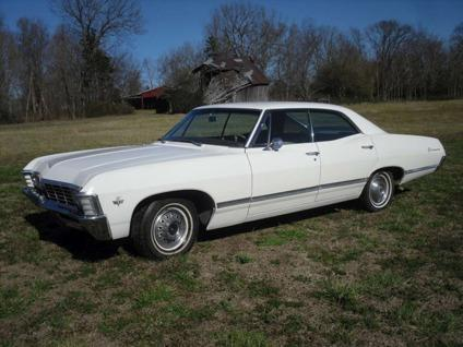 1967 chevrolet impala 4 door hardtop 67 chevy 4 dr supernatural for sale in quebeck tennessee. Black Bedroom Furniture Sets. Home Design Ideas