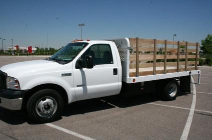 2006 ford f350 super duty flatbed truck with 30 400 miles for sale in denver colorado. Black Bedroom Furniture Sets. Home Design Ideas