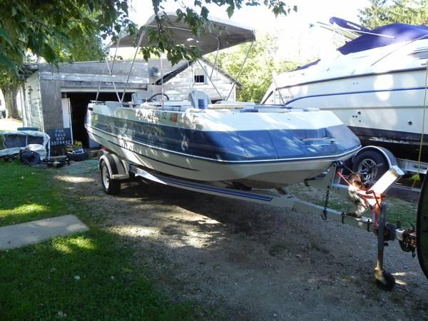 Used Tires Columbus Ohio >> 19 foot sylvan deck boat for Sale in Columbus, Ohio Classified | AmericanListed.com