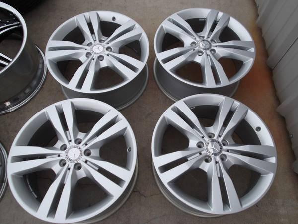 19 mercedes ml350 wheels rims ml320 ml430 ml450 r350 for Mercedes benz ml320 tires