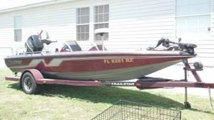 19' Nitro Bass Boat, LOADED&VERY CLEAN 150hp