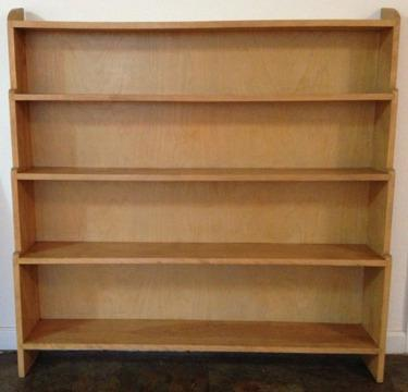 Solid Light Maple Bookcase Or Display Case For Sale In Farmers