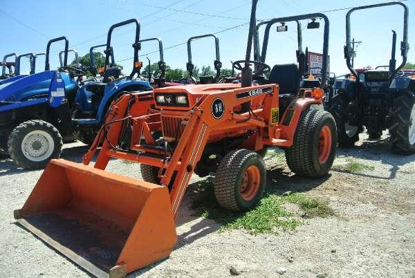 Kubota B7200 Tractor Seat : Kubota b for sale in granbury texas classified