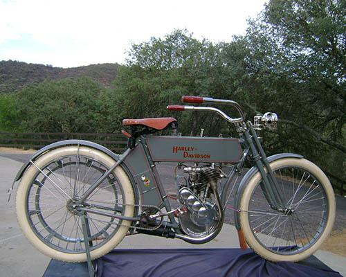 1910 Harley Davidson Single Cylinder