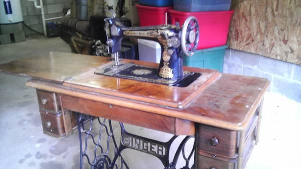 40 Singer Sewing Machine For Sale In Marietta Ohio Classified Gorgeous 1910 Singer Sewing Machine For Sale