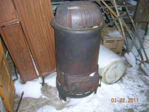 1920's Cylinder Wood/Coal Stove - (MILTON for sale in Janesville