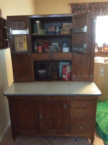 1920 S Seller S Hoosier Oak Cabinet For Sale In Murrieta