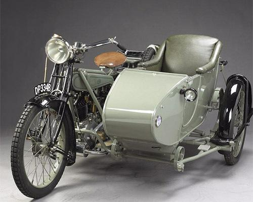 1921 Clyno 925cc V-twin with Sidecar