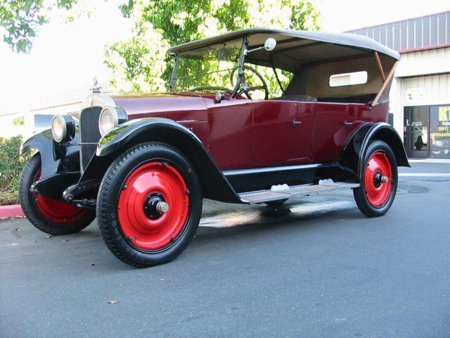 1923 durant star model a 22 sport touring chevy ford for. Black Bedroom Furniture Sets. Home Design Ideas