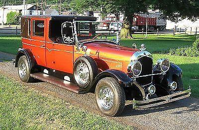 1926 Chrysler Towne Car Unique Stretch Limo Street Rod For Sale In