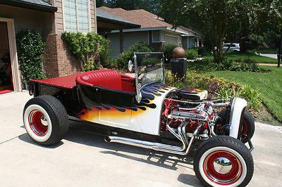 1927 FORD ROADSTER PICKUP HOT ROD T BUCKET ALL STEEL