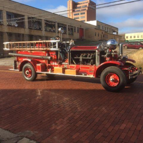 1928 Ahrens Fox Fire Truck for Sale in Elliott, Iowa