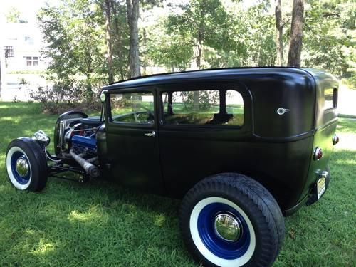 Steering Wheel Shaking >> 1928 Model A Tudor Sedan Hot Rod for Sale in Jackson, New ...
