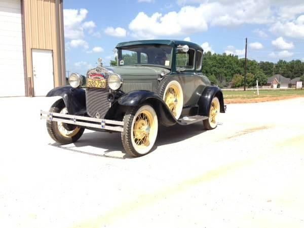 1929 ford model a for sale tx for sale in austin texas classified. Black Bedroom Furniture Sets. Home Design Ideas