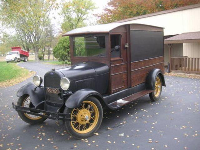 1929 ford model a hearse delivery van for sale in elliott iowa classified. Black Bedroom Furniture Sets. Home Design Ideas
