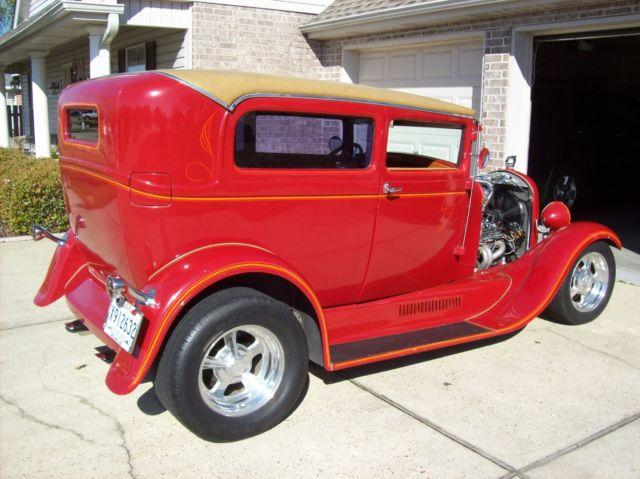 1929 Ford Model A sedan Hot Rod