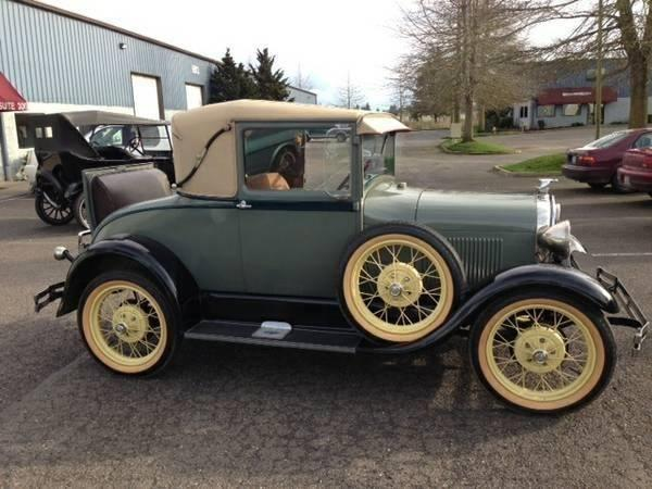 1929 ford model a sport coupe for sale wa for sale in graham washington classified. Black Bedroom Furniture Sets. Home Design Ideas