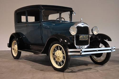 1929 Ford Model A Tudor Full Restoration For Sale In
