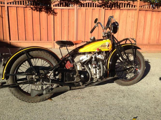 1929 Indian Chief 101 Scout Clear for Sale in Fremont ...