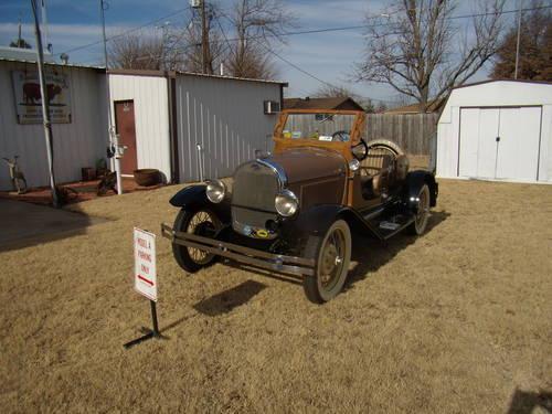 1929 Model A Ford Speedster For Sale In Jones  Oklahoma