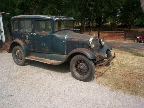 1929 model a ford 4 door town sedan for sale in crescent oklahoma classified for 1929 ford model a 4 door sedan
