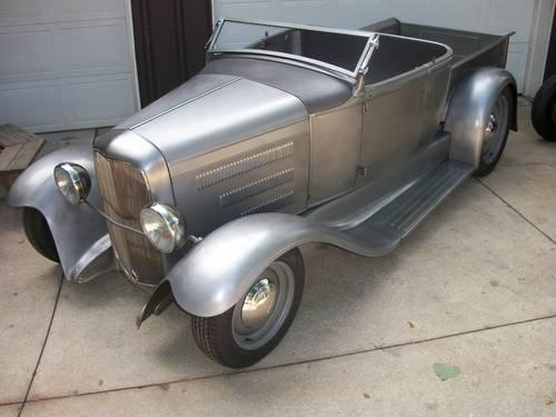 1930 1931 Ford Roadster Pick Up Hot Rod Street Rod For