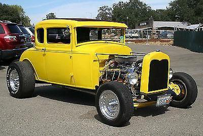 1930 Ford Model A Roadster Hot Rod 5 Window Coupe