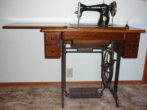 40's Singer Treadle Sewing Machine For Sale In Winner South Cool Pedal Sewing Machine For Sale