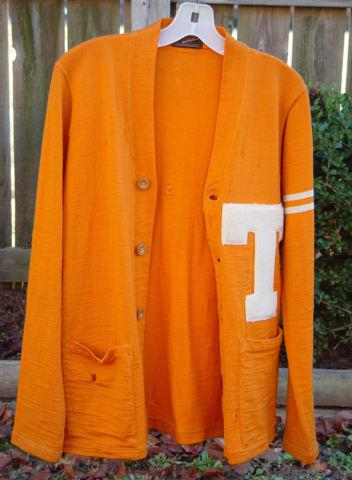 1930's - University Tennessee Football Cardigan Sweater