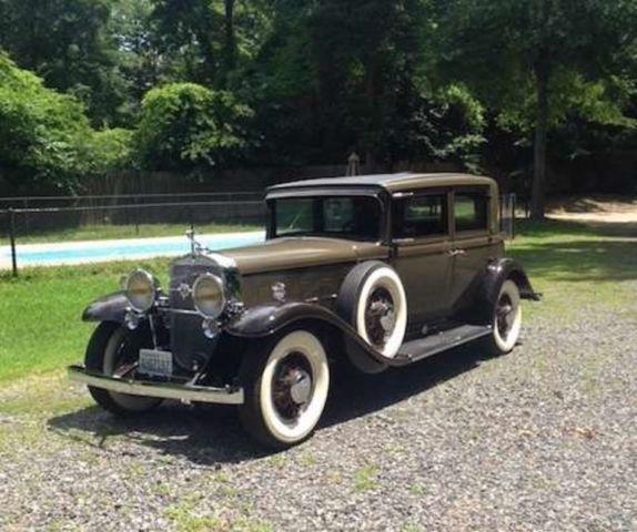 Cadillac V Series For Sale: 1931 Cadillac V12 Town Sedan For Sale In Elliott, Iowa Classified