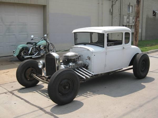 1931 ford 5 window rat rod coupe for sale in wichita kansas classified. Black Bedroom Furniture Sets. Home Design Ideas