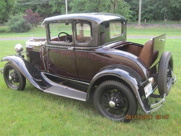 1931 ford model a coupe hot rod for sale at gateway autos post. Black Bedroom Furniture Sets. Home Design Ideas