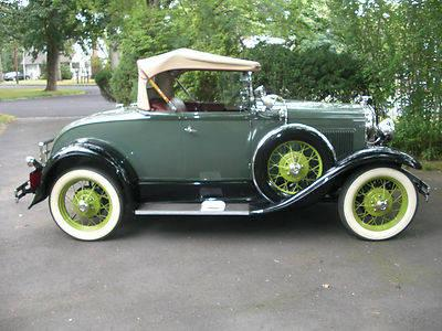 1931 Late Model A Ford Deluxe Roadster 6 Wheel Rumble