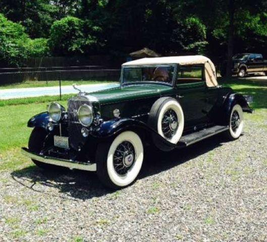 Cadillac V Series For Sale: 1931Cadillac 370 Convertible V12 For Sale In Elliott, Iowa Classified