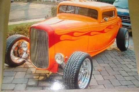 1932, Ford 2 Door Coupe