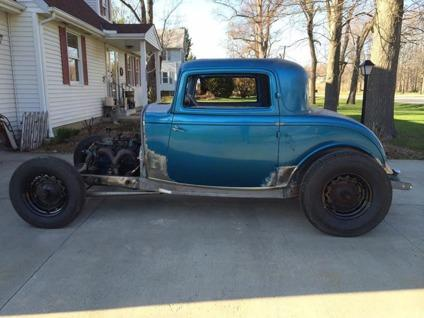 1932 ford 3 window coupe henry steel hotrod for sale in for 1932 ford 5 window coupe project for sale