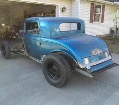 1932 ford 3 window coupe henry steel hotrod for sale in for 1932 ford 3 window coupe for sale in canada